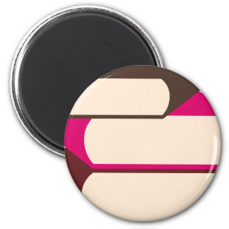 GirlsBookCP10 2 Inch Round Magnet