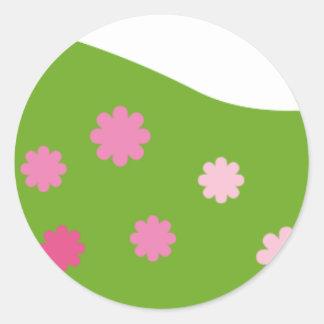 GirlsBookCP11 Classic Round Sticker