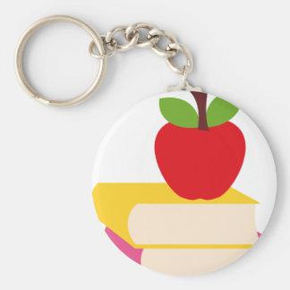 GirlsBookCP14 Basic Round Button Keychain