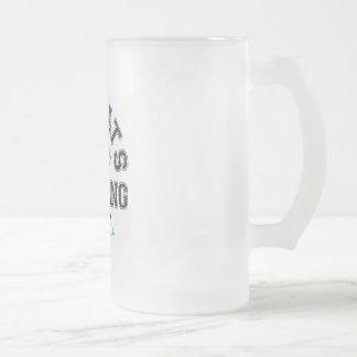 GirlsDrinkingTeam2 16 Oz Frosted Glass Beer Mug