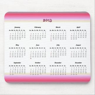 Girly 2013 Calendar Mousepad