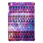 Girly Andes Aztec Pattern Pink Teal Nebula Galaxy iPad Mini Cases