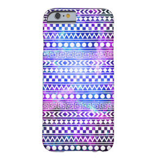 Girly Aztec Tribal Nebula Galaxy iPhone 6 Case
