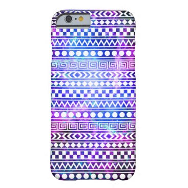 Aztec Themed Girly Aztec Tribal Nebula Galaxy iPhone 6 Case