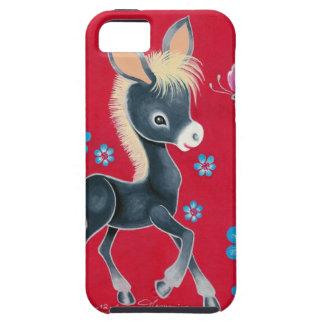 Girly Baby Donkey With Flowers iPhone SE/5/5s Case