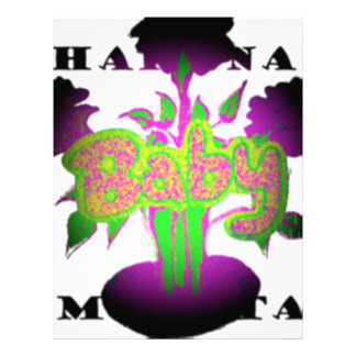 Girly  Baby Hakuna Matata.png Letterhead
