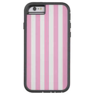 Girly Baby Pink Solid Stripes Pattern Tough Xtreme iPhone 6 Case