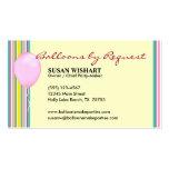Girly Balloon Business Card