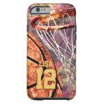 Girly Basketball Tough iPhone 6 Case