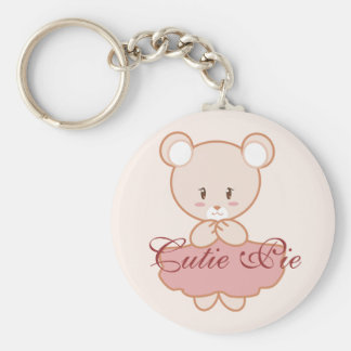 Girly Bear Keychain