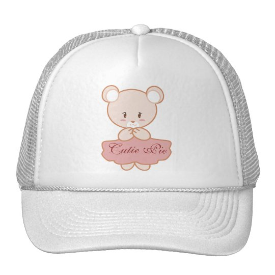 Girly Bear Trucker Hat