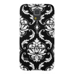 Girly Black and White Damask Pattern Galaxy S5 Cover