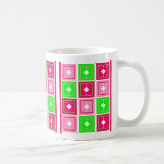 Girly Blocks Mug