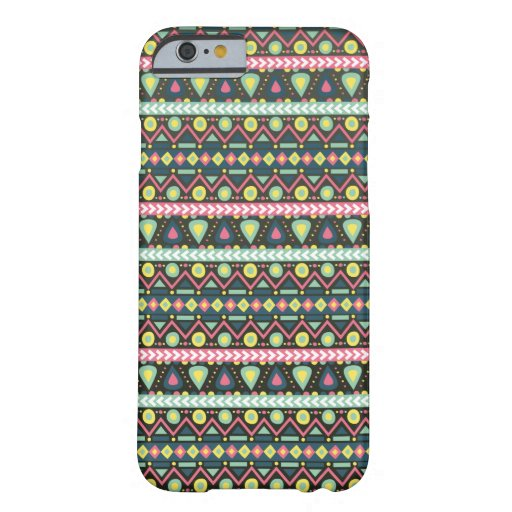 Girly Boho Style Pattern Barely There iPhone 6 Case