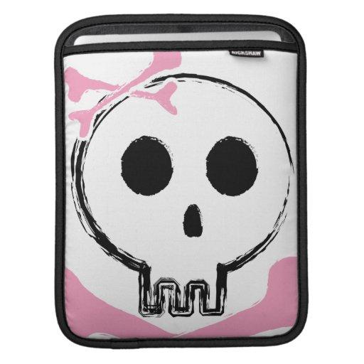 Girly Bow Skull iPad Sleeves