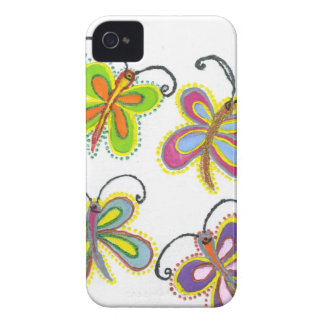Girly Butterfly Case-Mate iPhone 4 Case