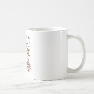 Girly Butterfly Classic White Coffee Mug