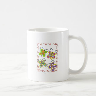 Girly Butterfly Coffee Mug