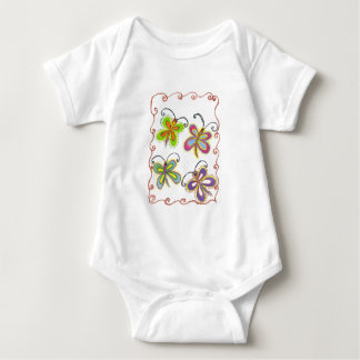 Girly Butterfly T-shirts