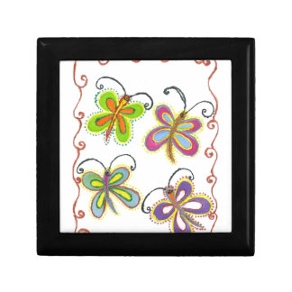 Girly Butterfly Trinket Boxes