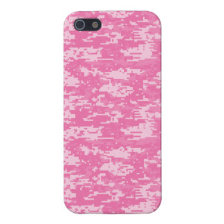 Girly Camo Pink Camouflage iPhone 5 Cases