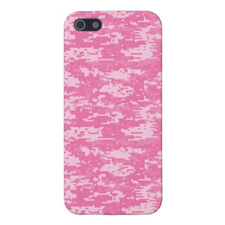 Girly Camo Pink Camouflage
