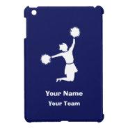 Girly Cheerleaders in Blue iPad Mini Case at Zazzle