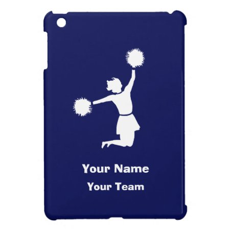 Girly Cheerleaders In Blue Ipad Mini Case