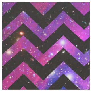 Teal chevron pattern fabric zazzle for Galaxy nebula fabric