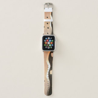 Girly Chic Fashion 42mm Apple Watch Leather Bands