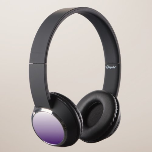 Girly Chic minimalist ombre lilac lavender purple Headphones