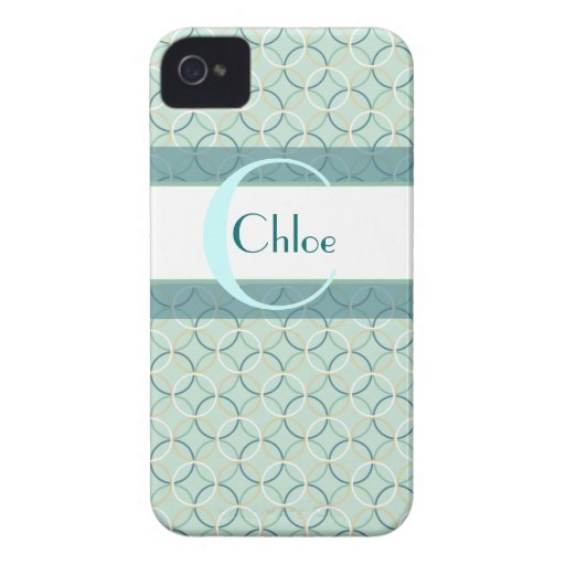 Girly Circles iPhone 4/4s Case-Mate Case iPhone 4 Cover