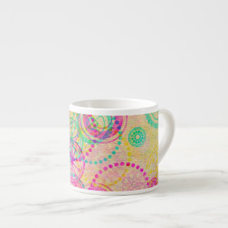 Girly Clockworks 6 Oz Ceramic Espresso Cup