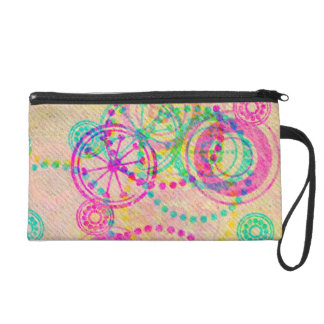 Girly Clockworks Wristlet