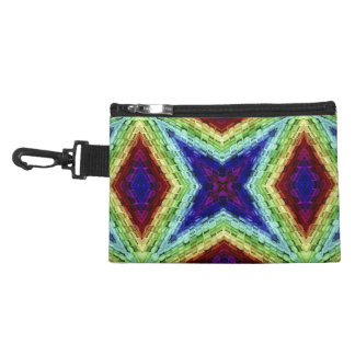 Girly Color  Kaleidoscope Accessory Bag