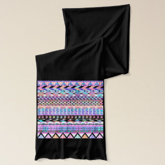 Girly Colorful Aztec Pattern Scarf