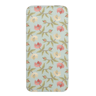 Girly Cottage Floral iPhone SE/5/5s/5c Pouch