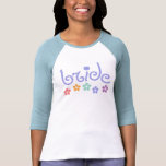 Girly-Cue Bride T-shirts