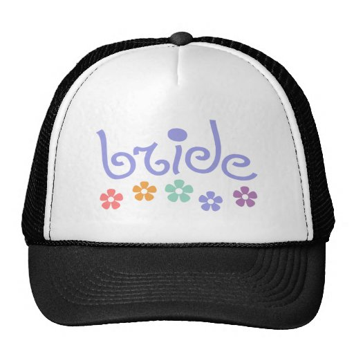 Girly-Cue Bride Trucker Hat