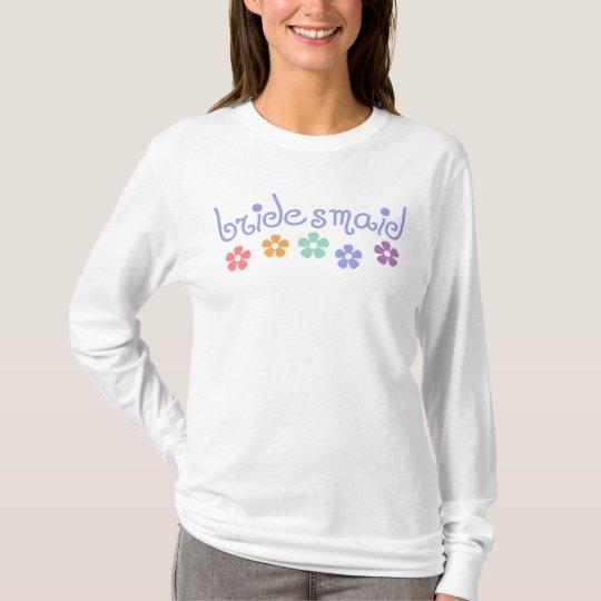 Girly-Cue Bridesmaid T-Shirt