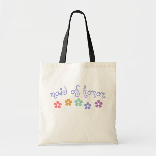 Girly-Cue Maid of Honor Tote Bag