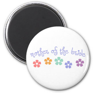 Girly-Cue Mother of Bride Fridge Magnets