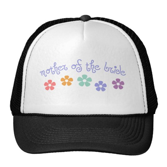 Girly-Cue Mother of Bride Trucker Hat