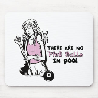 Girly Cue Mouse Pad