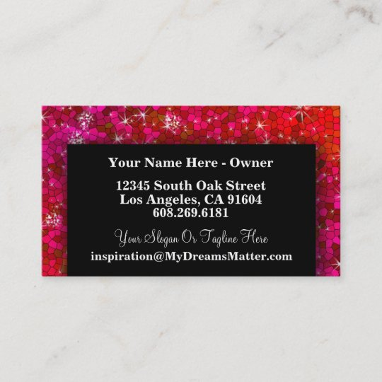 Girly cute glitter professional hair makeup artist business card girly cute glitter professional hair makeup artist business card colourmoves