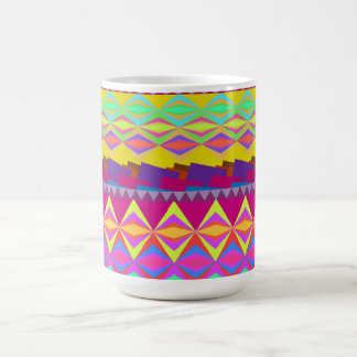 Girly cute trendy aztec andes design coffee mug