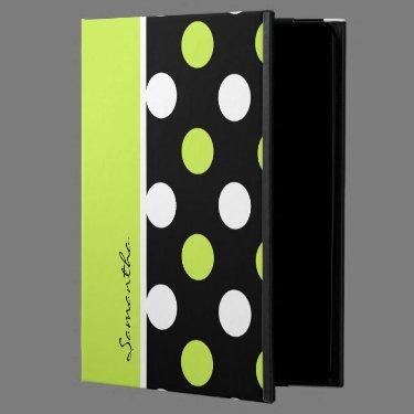 Girly Damask and Polka Dot 2 Patterns Powis iPad Air 2 Case