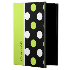 Girly Damask and Polka Dot 2 Patterns Powis iPad Air 2 Case
