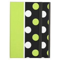 Girly Damask And Polka Dot Patterns Cover For Ipad Air at Zazzle