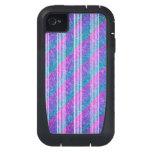 Girly Diagonal Stripes iPhone4 Case